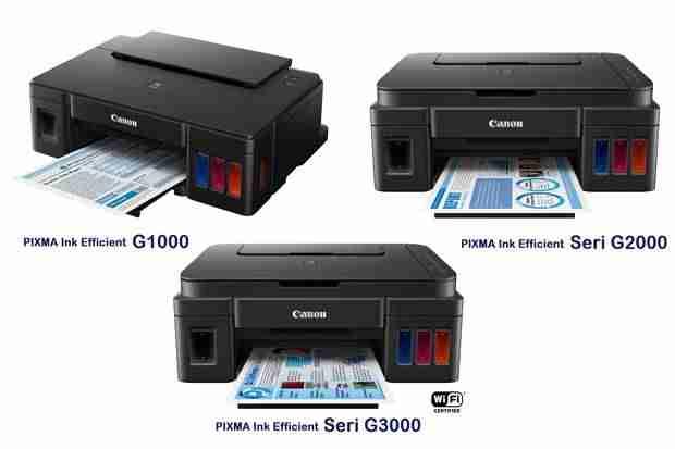 harga tiga printer canon pixma g series xLZ
