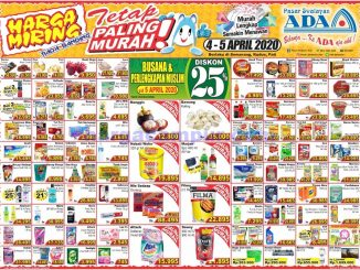Katalog Promo Ada Pasar Swalayan Weekend 4 - 5 April 2020