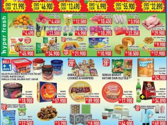 Katalog Promo Hypermart Weekend Terbaru 3 - 6 April 2020