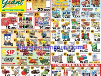 Katalog Promo JSM Giant Weekend 3 - 6 April 2020