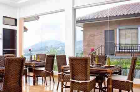 Osmond Villa Resort lembang Bandung