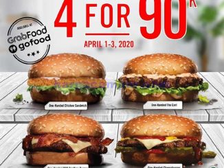 Promo Carls Jr 1 April 2020