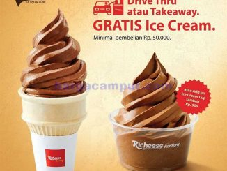 Promo Richeese factory 1 April 2020