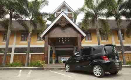 Sabda Alam Hotel di Garut