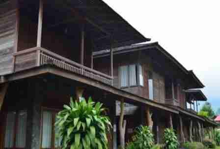 Villa Rumah Kayu Lembang bandung