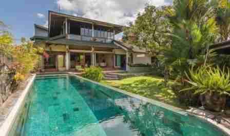 Villa Sawah di Bogor