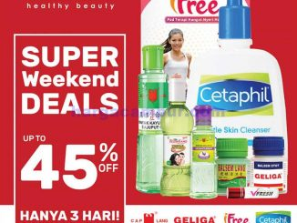 Katalog Promo Guardian Weekend Terbaru 3 - 5 April 2020 1