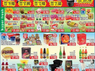 Katalog Promo Hypermart Weekend Terbaru 10 - 13 April 2020