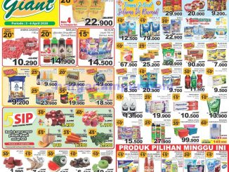 Katalog Promo JSM Giant Weekend Terbaru 3 - 6 April 2020