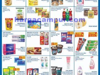 Katalog Promo JSM Indomaret Weekend 9 - 12 April 2020 No Harga
