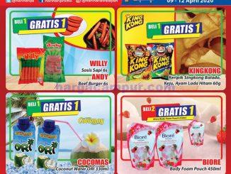 Katalog Promo KJSM HARI HARI Pasar Swalayan Terbaru 9 - 12 April 2020 1