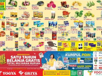 Katalog Promo Toserba Yogya Weekend Terbaru 3 - 5 April 2020