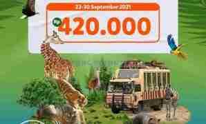 Promo Tiket Masuk Taman Safari Prigen Hingga 30 September 2021