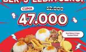 promo nasi kulit malam minggu bertiga hanya 47 ribu periode oktober 2021