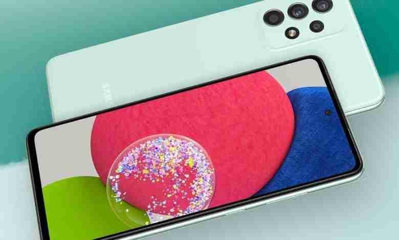 Layar Samsung Galaxy A52s 5G