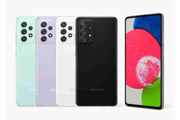 Warna Samsung a52s 5G