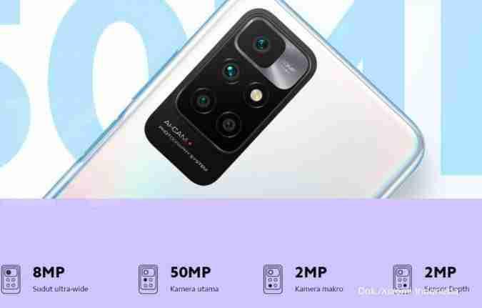 kamera Redmi 10 1