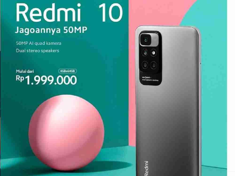 kamera Redmi 10